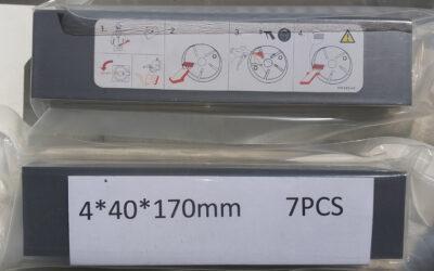 Лопатки для компрессора 170 x 40 x 4