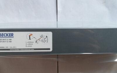 Лопатки для компрессора  240 x 40 x 4 (Becker KDT.KVT 3.140)