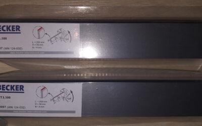 Лопатки для компрессора 4x39x250 (Becker DVT 3.100)