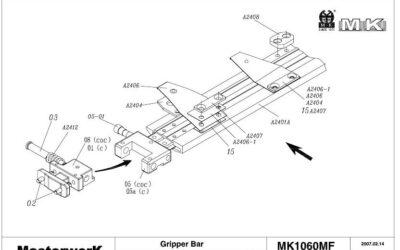 Bobst MK1050B-61A (MK)