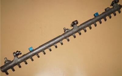 Man Roland gripper bar 10W1521 L=1025mm 21 tooth